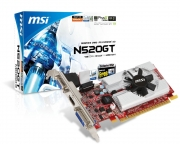 MSI N520GT MD1GD3/LP